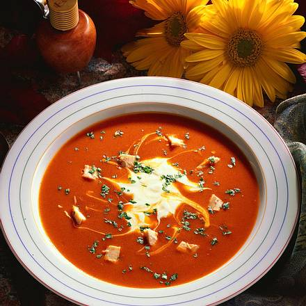 Paprika-Creme-Suppe Rezept