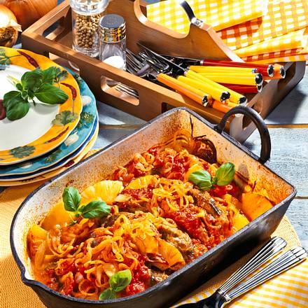 Paprika-Koteletts mit Ananas Rezept