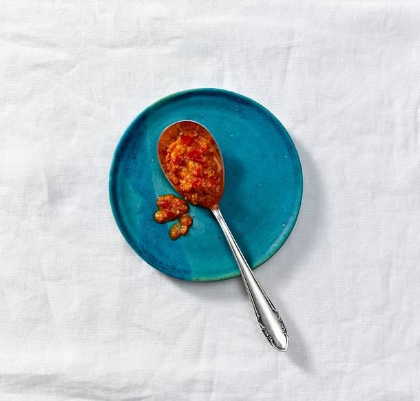 Paprika-Pesto Rezept