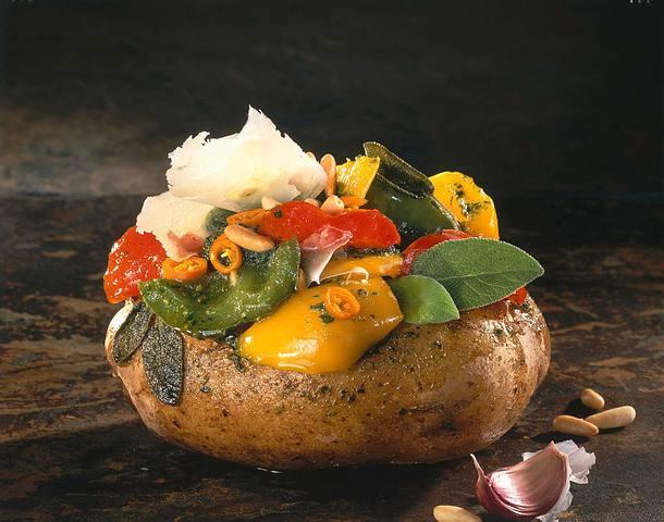 Paprika-Pesto-Kartoffel Rezept
