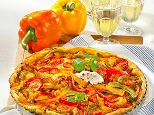 Paprika-Quiche nach Puszta-Art Rezept