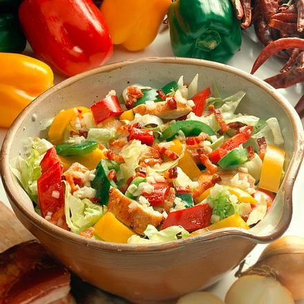 Paprika-Salat Rezept