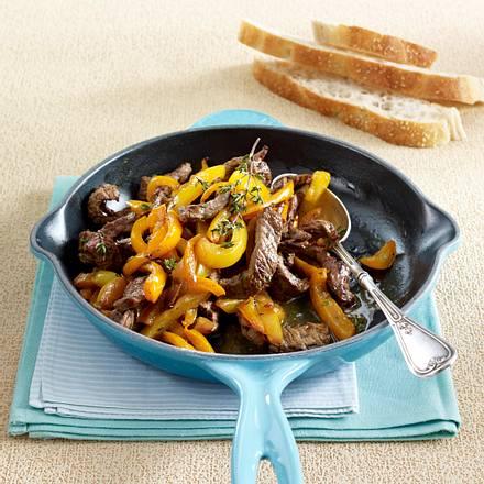 Paprika-Steakpfanne Rezept