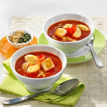 Paprika-Walnuss-Suppe Rezept