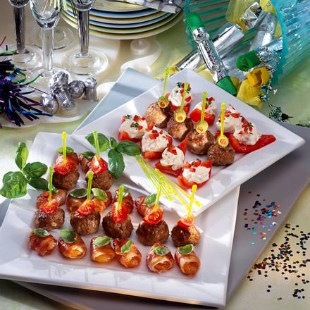 Paprikaschiffchen mit Frischkäsefüllung Rezept
