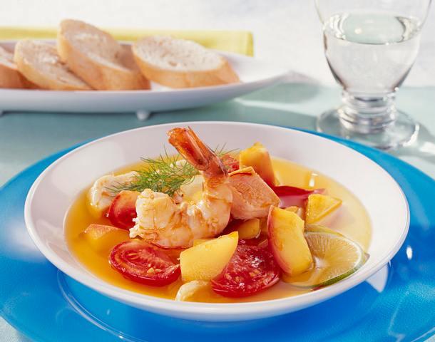 Paradiesische Fischsuppe Rezept
