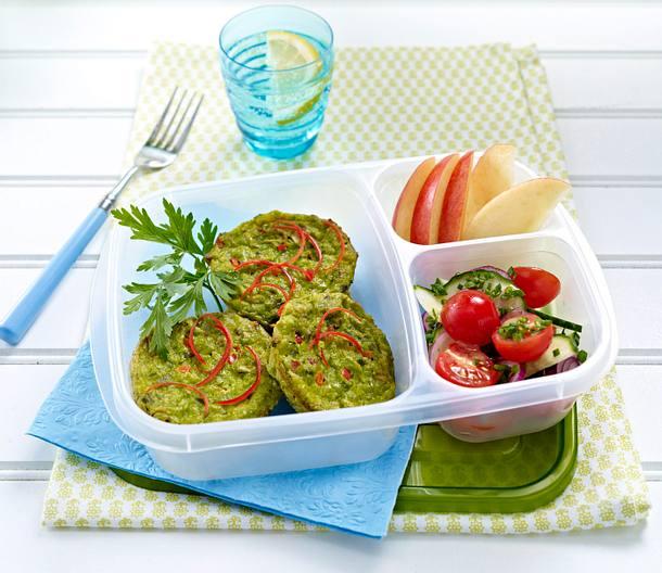 Parmesan Spinach Cakes Rezept