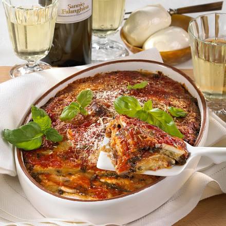 Parmigiana di melanzane (Auberginen-Auflauf) Rezept