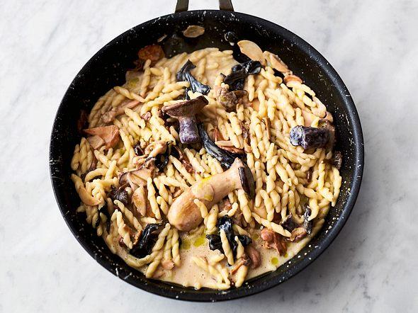 Jamies' Pasta mit Pilzen und Knoblauch Rezept