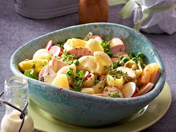 Pasta-Wurst-Salat Rezept