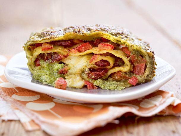 Pastarolle mit Feldsalatpesto Rezept