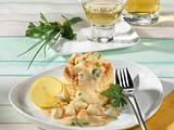 Pastetchen mit Geflügel-Sherry-Rahm Rezept