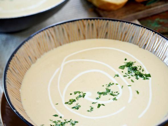 Pastinaken-Cremesuppe Rezept
