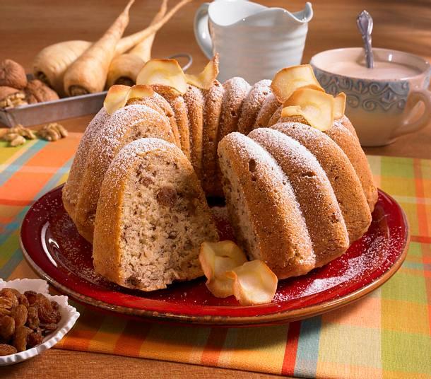 pastinaken napfkuchen mit waln ssen und rosinen rezept chefkoch rezepte auf kochen. Black Bedroom Furniture Sets. Home Design Ideas