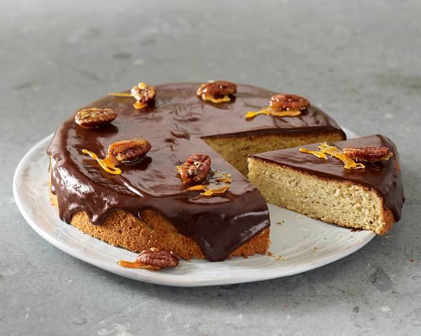 Pecannuss-Schoko-Kuchen Rezept