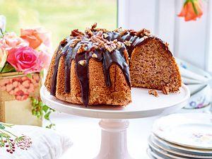 Pekan-Kürbis-Cake Rezept