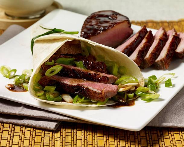 Peking-Entenbrust in Weizenfladen Rezept