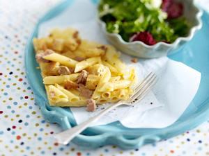 Penne-Frittata mit Thunfisch Rezept