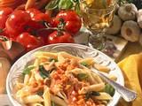 Penne mit Tomaten-Möhren-Soße Rezept