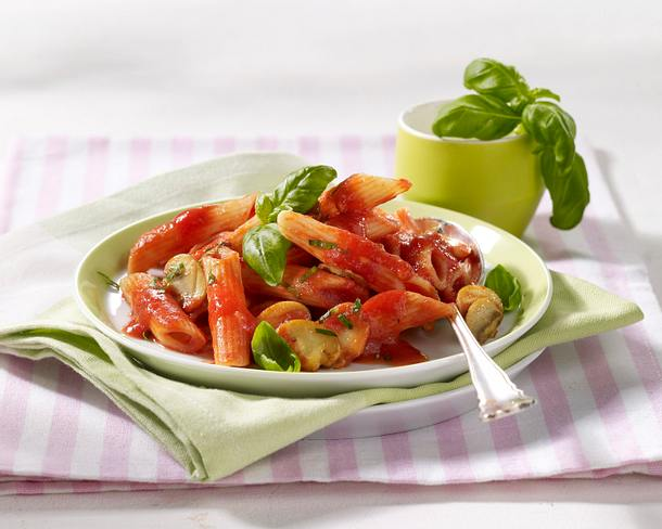 Penne mit Tomatensoße (Diät) Rezept
