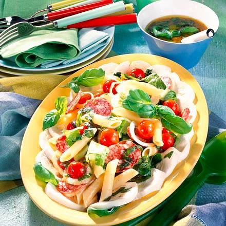 Penne-Tomaten-Salat Rezept