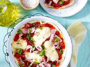 Pfannen-Pizza Rezept