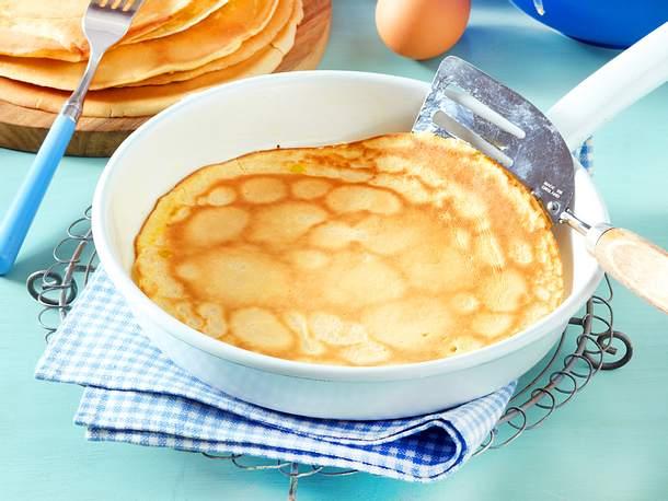 Pfannkuchen-Grundrezept Rezept