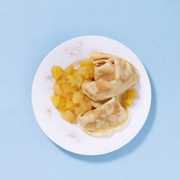 Pfannkuchen mit Apfelmus Rezept