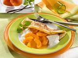 Pfannkuchen mit Aprikosenkompott Rezept