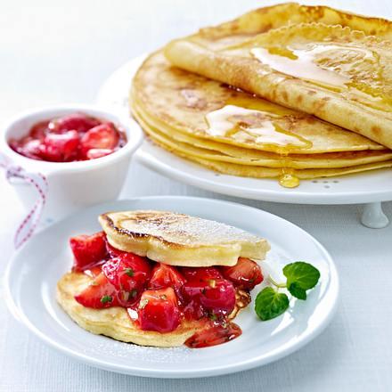 Pfannkuchen mit Honig Rezept