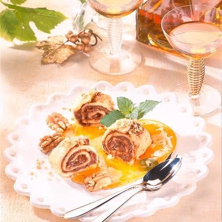 Pfannkuchen mit Nuss-Nougat-Creme Rezept