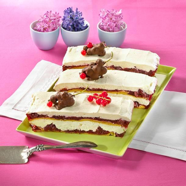 Pfannkuchen-Quark-Lasagne Rezept
