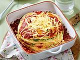 Pfannkuchen-Spinat-Torte Rezept
