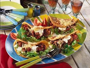 Pfannkuchen-Tortillas à la mexicana Rezept