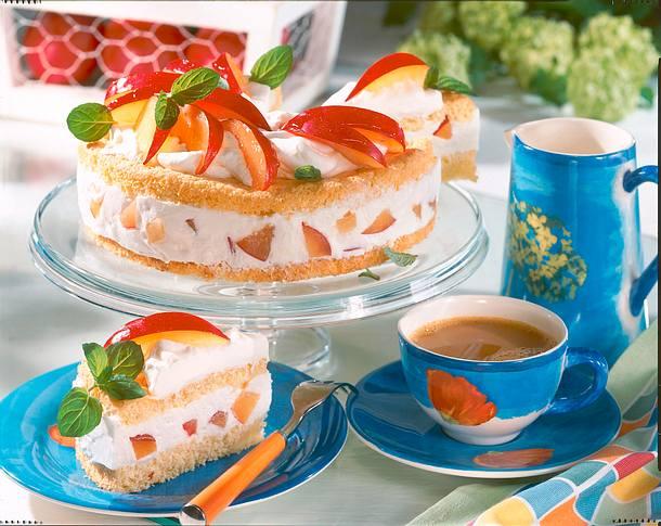 Pfaumen-Dickmilch-Torte (Diabetiker) Rezept