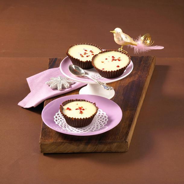 Pfeffriges Schokoladen-Panna-Cotta Rezept