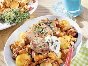 Pfifferlings-Kartoffel-Gemüse Rezept