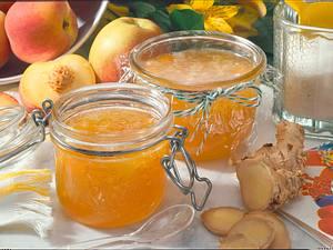 Pfirsich-Apfel-Konfitüre Rezept