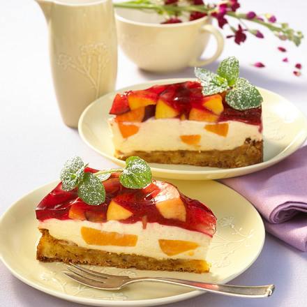 Pfirsich-Eistee-Kuchen Rezept