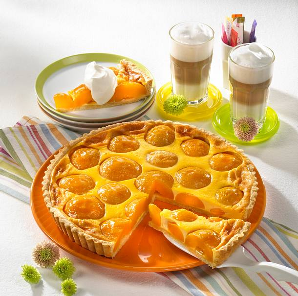 Pfirsich-Joghurt-Tarte Rezept
