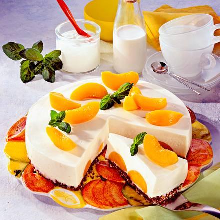 Pfirsich-Joghurt-Torte Rezept