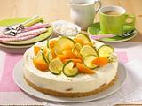 Pfirsich-Joghurtcreme-Torte Rezept