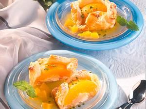 Pfirsich-Marzipan-Teilchen Rezept