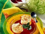 Pfirsich mit Baiserfüllung Rezept