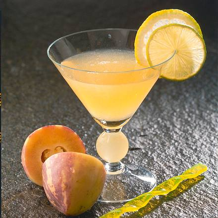Pfirsich-Orangen-Drink Rezept