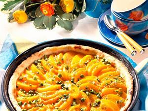Pfirsich-Pistazien-Tarte (Diabetiker) Rezept