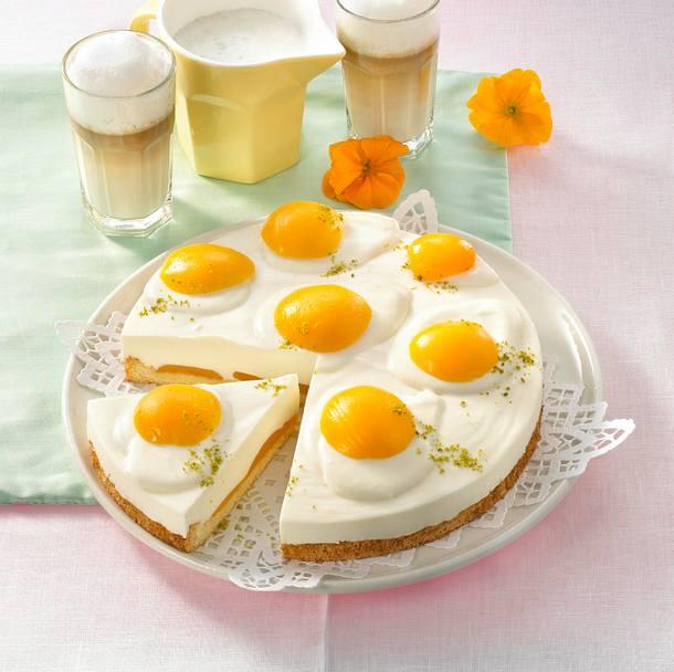 Pfirsich-Spiegelei-Torte (Diabetiker) Rezept