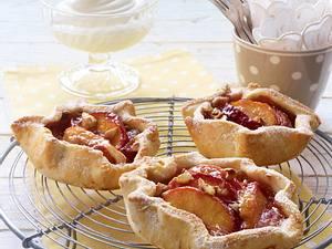 Pfirsich-Tarteletts mit Cashewkernen Rezept