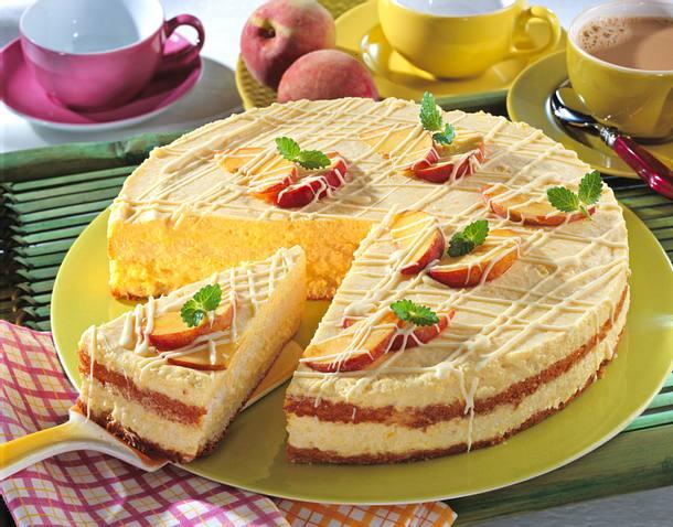 Pfirsich-Torte Rezept