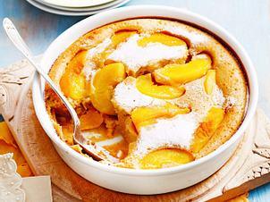 Pfirsich-Vanille-Clafoutis Rezept